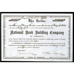 National Bank Building Co., Issued Stock.