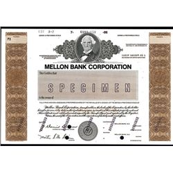 Mellon Bank Corp., Specimen Stock.