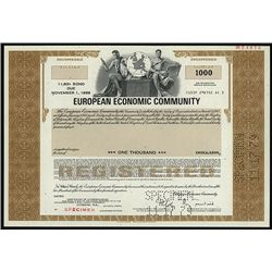 European Economic Community, Specimen Bond.