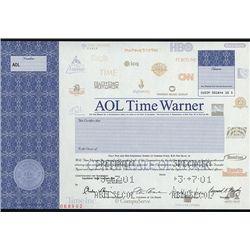AOL Time Warner, Specimen Stock.