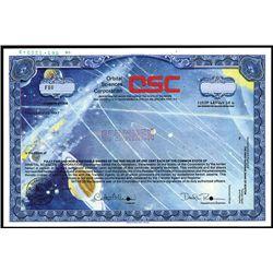 Orbital Sciences Corp., Specimen Stock.