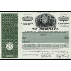 Home Depot, Inc. Specimen Bond.