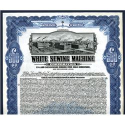 White Sewing Machine Corp., Specimen Bond.