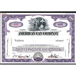 American Can Co., Specimen Stock.