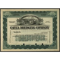 Cauca Dredging Co., Specimen Stock.