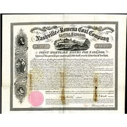 Nashville and Rowena Coal Co., Issued Bond.