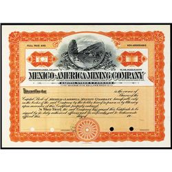 Mexico-America Mining Co., Specimen Stock.