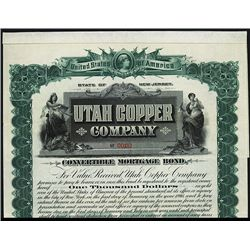Utah Copper Co. Specimen Bond.