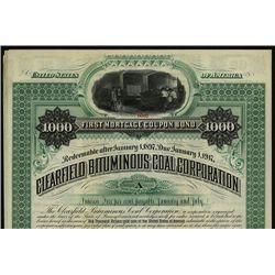 Clearfield Bituminous Coal Corp., Specimen Bond.