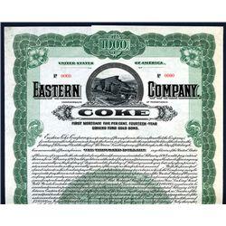 Eastern Coke Co., Specimen Bond.