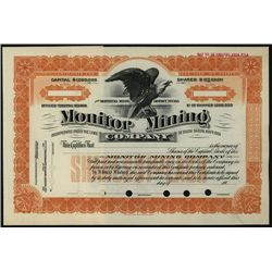 Monitor Mining Co., Specimen Stock.