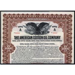 American Cotton Oil Co. Specimen Bond.