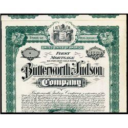 Butterworth-Hudson Co., Specimen Bond.