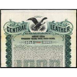 Central Leather Co. Specimen Bond.