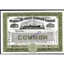 Atlantic and Pacific Steamship Co., Issued Stock.