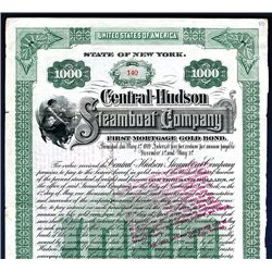 Central-Hudson Steamboat Co., Issued Bond.