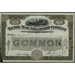 Pacific Mail Steamship Co., Issued Stock.
