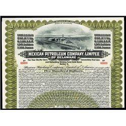 Mexican Petroleum Co. Ltd., Specimen Bond.