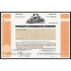 Phillips Petroleum Co. Specimen Stock.