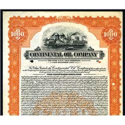 Continental Oil Co., Specimen Bond.
