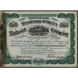 Stamford Street Railroad Co., Issued Stock.