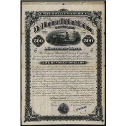 Virginia Midland Railway Co., Specimen Bond.