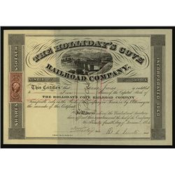 Holliday's Cove Railroad Co., Issued Stock.