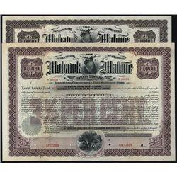 Mohawk and Malone Railway Co., Specimen Bond.