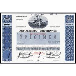 Any American Corp., ABNC Sample Specimen Stock.