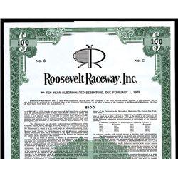 Roosevelt Raceway, Inc. Specimen Bond.