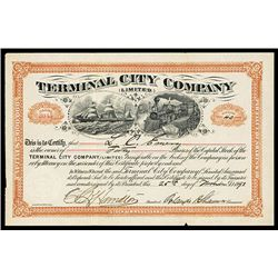 Terminal City Co. Issued Stock.
