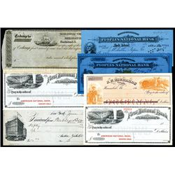 Assortment of Personal Checks Lot of 7.