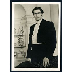 Sir Laurence Olivier Autograped Photo.