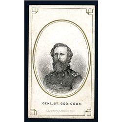General St. Geo. Cook Cigar Box Label.