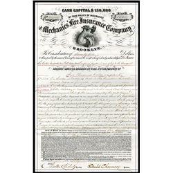Alchemic' Fire Insurance Co., Insurance Notice.