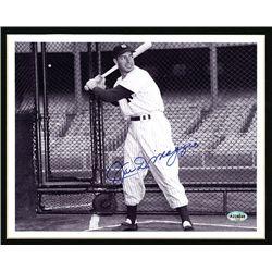 Joe DiMaggio Autographed Mat.