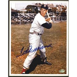 Ted Williams Autographed Mat.