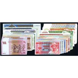 African Banknote Melange.
