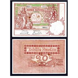 Banque National, 1922 Issue banknote