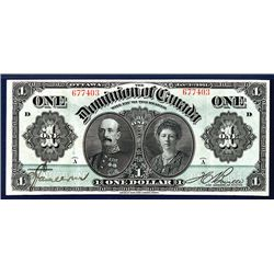Dominion of Canada, 1911 Issue Banknote.