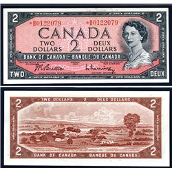 Bank of Canada, 1954 Replacement Note.