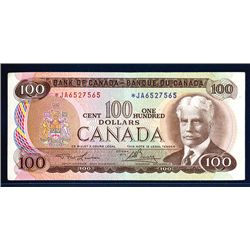 Bank of Canada, 1975 $100 Replacement Star Note.