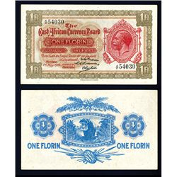 East African Currency Board, 1920, King George V Issued Banknote.