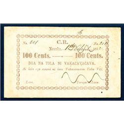 C.R. - Vakacavacava, 1872-73 Fractional Tax Note Issue.