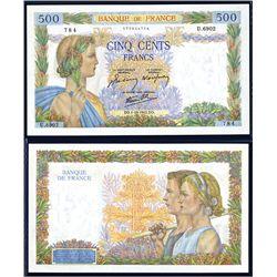 Banque de France, 1941-43 High Grade Issued Banknote.