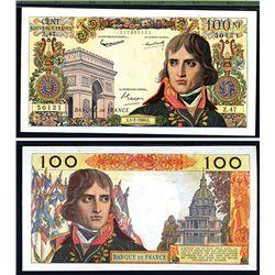 """Banque de France, 1959-64 """"Nouveaux Francs"""" Issue Banknote."""