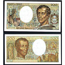 Banque de France, 1981 Issued Banknote.