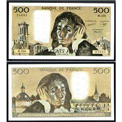 Banque de France, 1987 Issued Banknote.