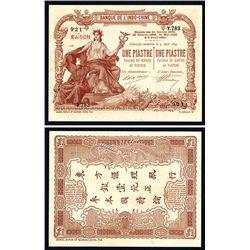 Banque De L'Indo-Chine, Decrets Des 3.4.1901 Issued Banknote.