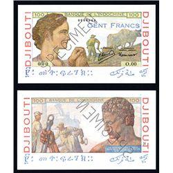 Banque De L'Indochine, ND (1946) Issue Specimen Banknote.